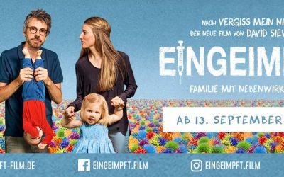 EINGEIMPFT – Familie mit Nebenwirkungen // ab 13. September 2018 im Kino!
