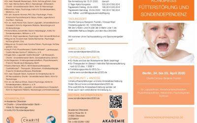 Kongress Fütterstörung und Sondendependenz 24.-25. April 2020 Berlin