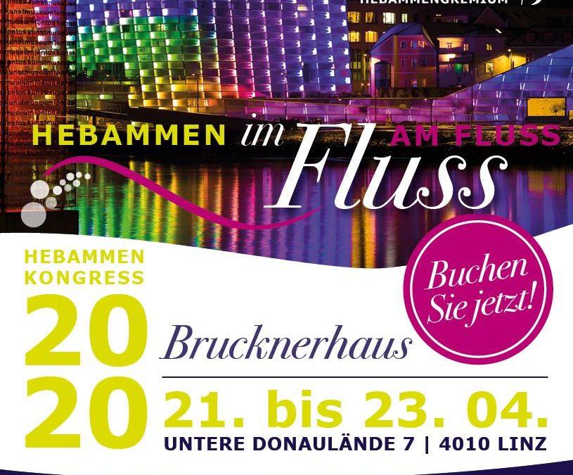 ABGESAGT!!  Hebammenkongress in Österreich, 21.-23. April 2020